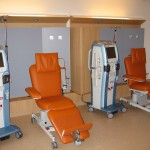 treatment unit with ComfortLine chair
