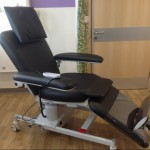 ComfortLine therapy chair in black