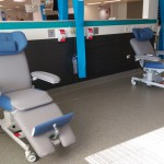 Therapy chairs with Special headrest for more privacy