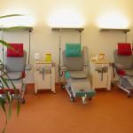 therapy chair in Bi-color design