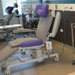 Oncology therapy chair