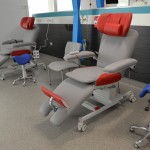 therapy chair with stoo and premium headrest