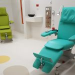 ComfortLine in Special Colors Limone and Turquois in paediatric renal unit