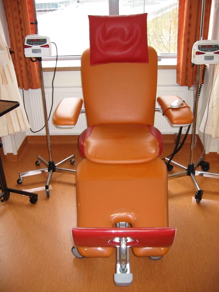 Chemotherapy Room Design: Therapieliegen